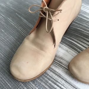 Madewell Shoes - Madewell Nubuck Sandstorm Booties